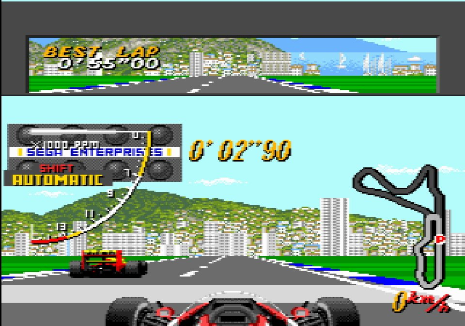 We'd love to see Super Monaco GP on Evercade.