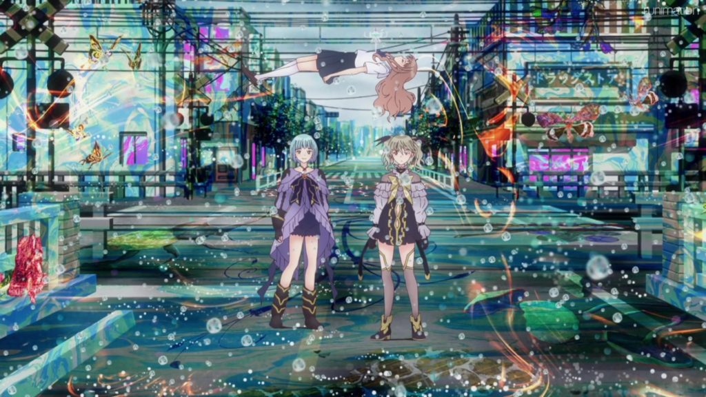 Blue Reflection Ray episode 2