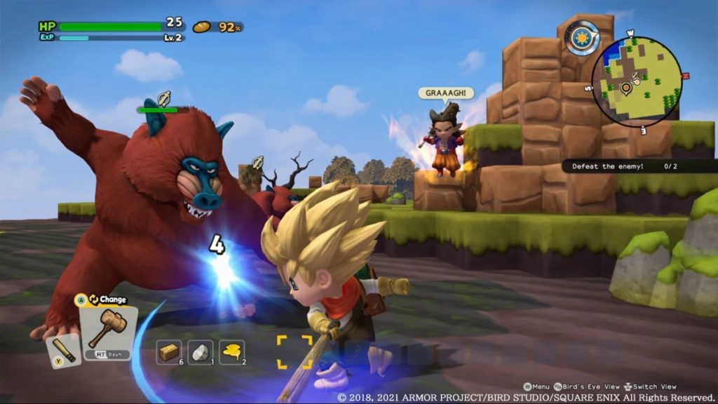 Dragon Quest Builders 2 Xbox One screenshot