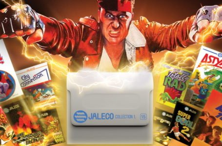 Exploring Japanese retro games with Evercade's new Jaleco Collection 1 cart