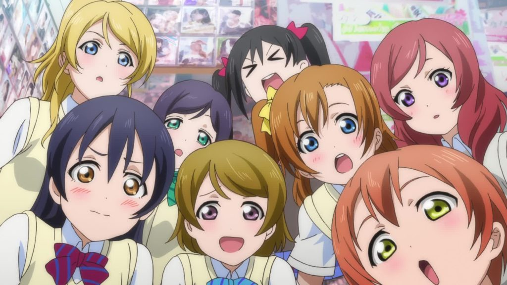 Love Live Muse cast