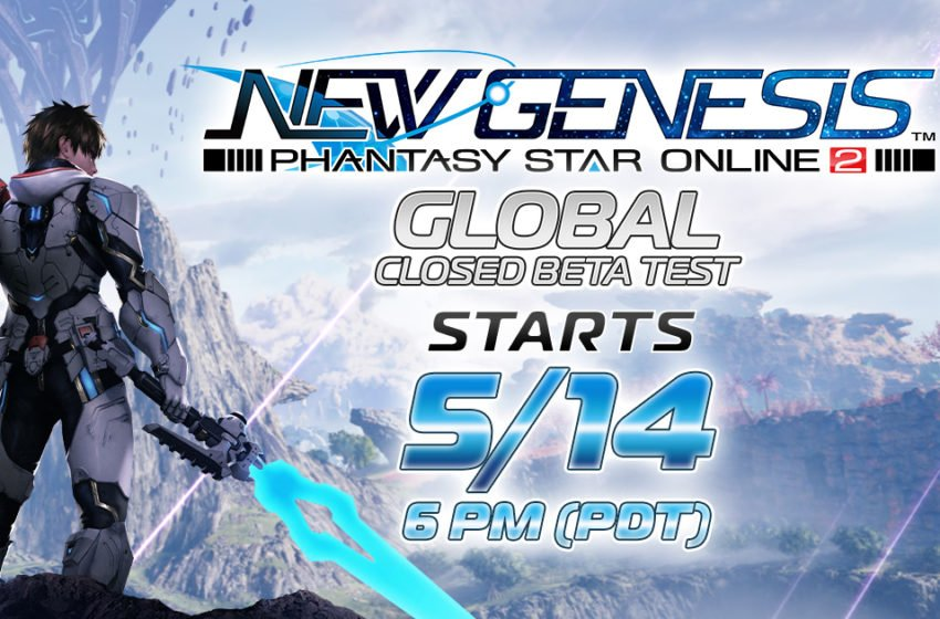 First global Phantasy Star Online 2: New Genesis beta announced