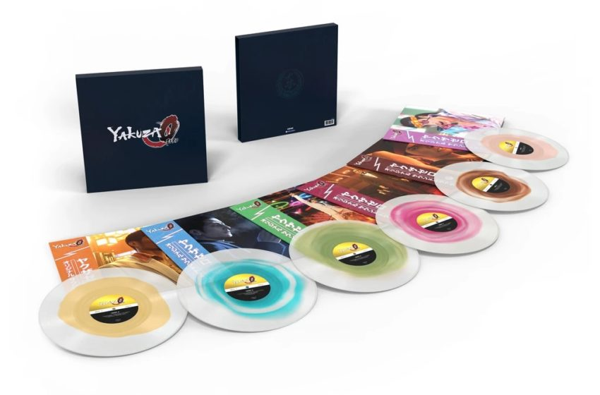 Yakuza 0 soundtrack vinyl collection now available for pre-order