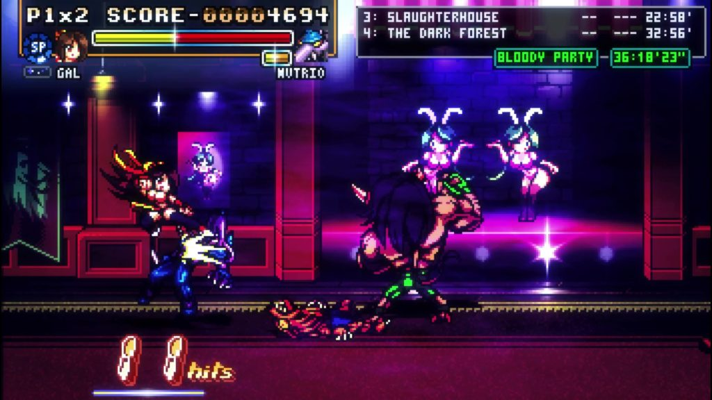 Arcade-style game Fight'N Rage