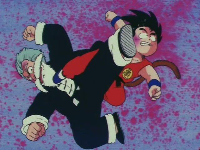 Goku vs Jackie Chun Tournament Arc
