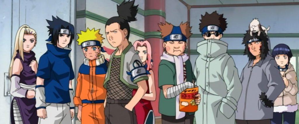 Naruto Chunin Exam Tournament Arc