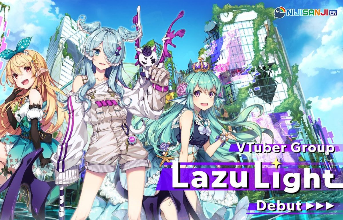 "Nijisanji reveals first English VTuber group ""LazuLight"""