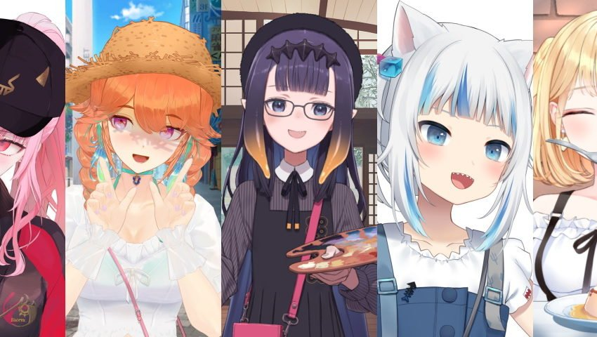 All change: Hololive English's new outfits make our girls look better than ever