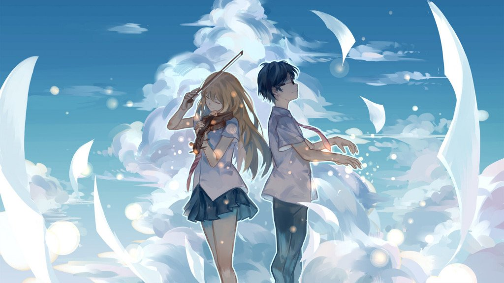 Your Lie in April on Azuki
