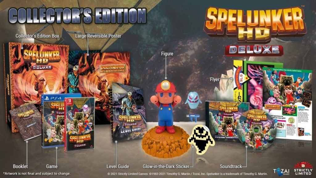 Spelunker HD Deluxe Collector's Edition