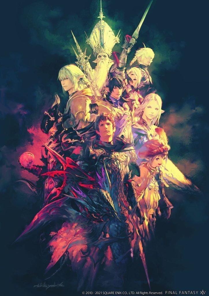 Final Fantasy XIV poster collection Heavensward artwork