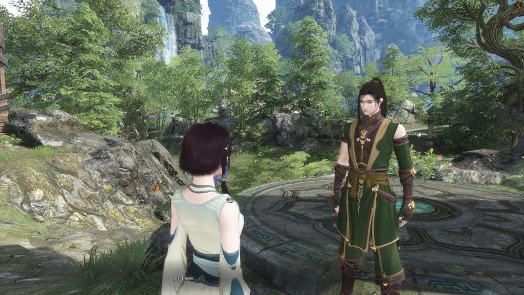 Swords of Legends Online dialogue