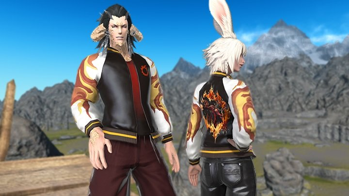 Final Fantasy XIV Inferno Jacket